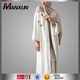 Modern Traditional Islamic Clothing Abaya Most Beautiful Fashion Embroidery White Kimono Abaya
