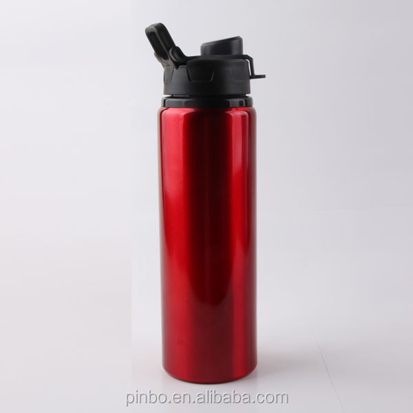 stainless steel sports drinking bottle,non-skid water bottle with diy concave-convex design