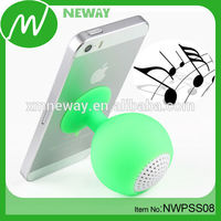 Suction Cup Mini Design Silicone Speakers and Loudspeaker