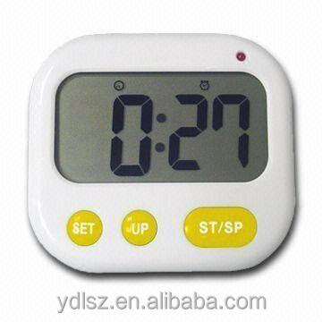 2016 cheap led countdown timer with large display screen Music vibrating Time