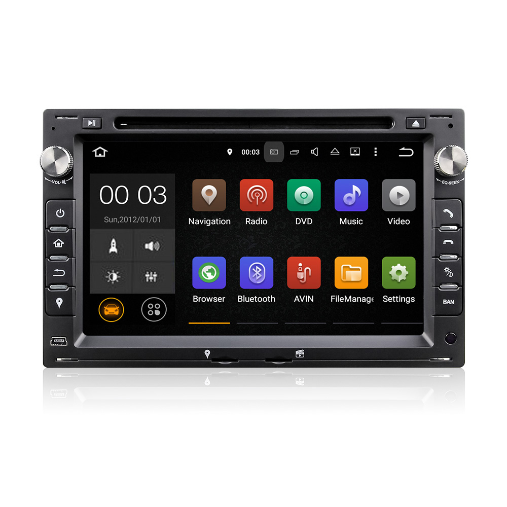 Winmark Android 5.1 Special Car Radio DVD Player Stereo GPS 7 Inch 2 Din For SEAT IBIZA 6L (2002 to 2008) DU7086
