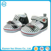 Hot selling comfortable zebra stripe leisure baby shoes casual toddler shoes