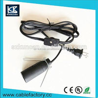 110V 18AWG KUNCAN ac power cord with dimmer switch