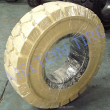hot sale cheap price solid forklift tire 5.00-8 6.00-9 white color