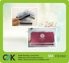 high quality customized pvc transparent cards,glossy/matt/frosted surface
