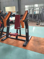 CE Certificated Fitness Equipment For Incline Press For Black Colour