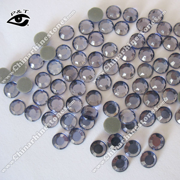 Hotfix rhinestone copy korean quality AAA grade 6MM SS30 Tanzanite Violet Color for Dress