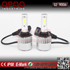 China manufacturer cob all in one replacment motorcycle 9006 led headlight