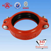 ISO,SGS Ductile Iron Grooved Coupling and Fittings
