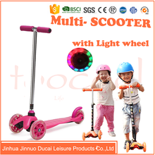TK02-2 china wholesale cheap price kids kick scooter for sale with 3 wheels