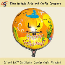 Factory Direct Pumpkin Shaped Halloween printed Foil Balloons