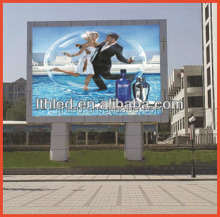 Big advertising led screen outdoor billboards with CE, RoHS, FCC ,ISO certificate)