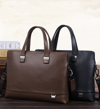 Genuine Business Vintage Men's Leather Bag Men's Fashion Handbag