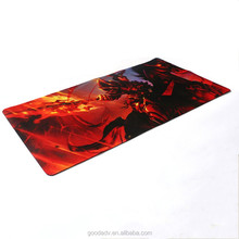 Guangzhou factory custom printed fancy gaming mouse pad
