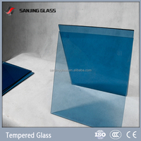 Color changing tempered glass