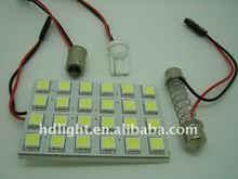 12V 20 SMD 5050 PCB LED Car Interior Dome Light