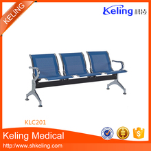 2017 most popular hospital stainless steel waiting chairs with best quality and low price