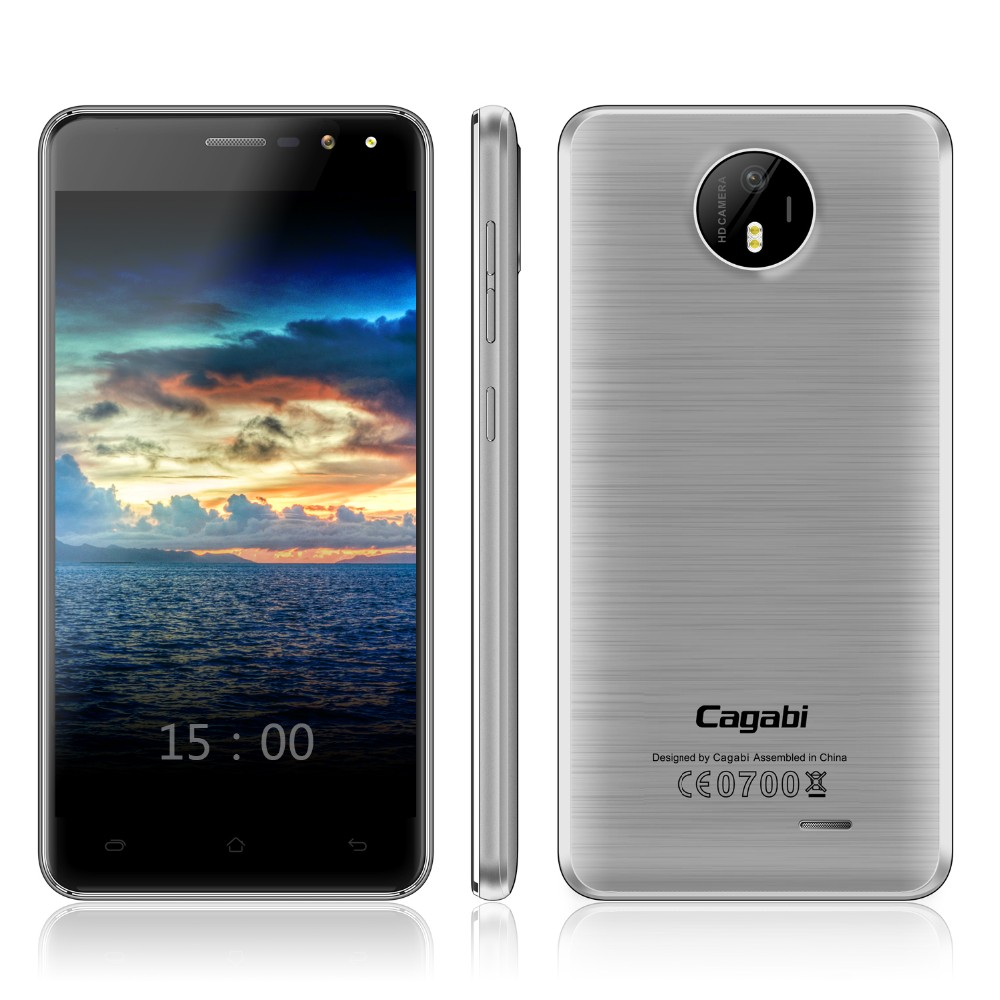 Cagabi One - 2017 Luxury Touch Screen 4G Cheap Phone 5inch Android 6.0 Smartphone Ram2G Rom16G Low Price China Mobile Phone