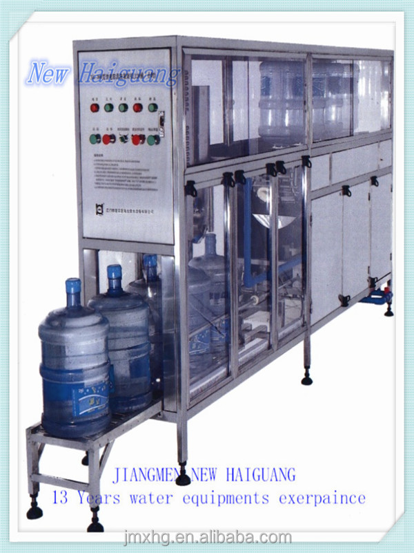 Low cost auto 5 gallon water bottle washing filling capping machine