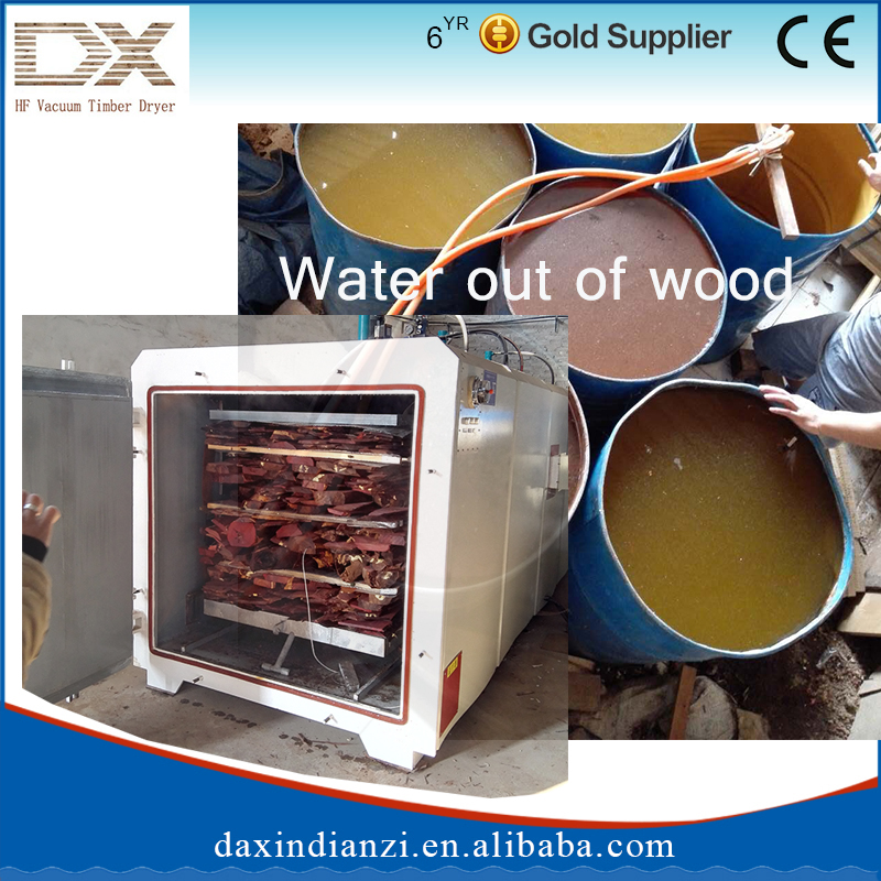 Radio frequency vacuum drying kiln/wood seasoning plant for sale