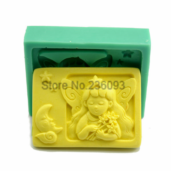 TANGCHU Cake DecoratingTools Silicone Cake Decoration Mould Baby Fondant Cutters Tools Kitchen Confectionery Tools Silicone Mold