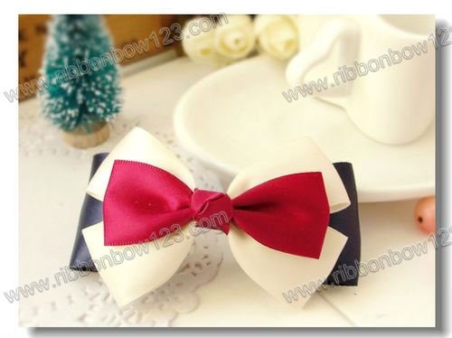 wholesale bow tie clip hair accessories