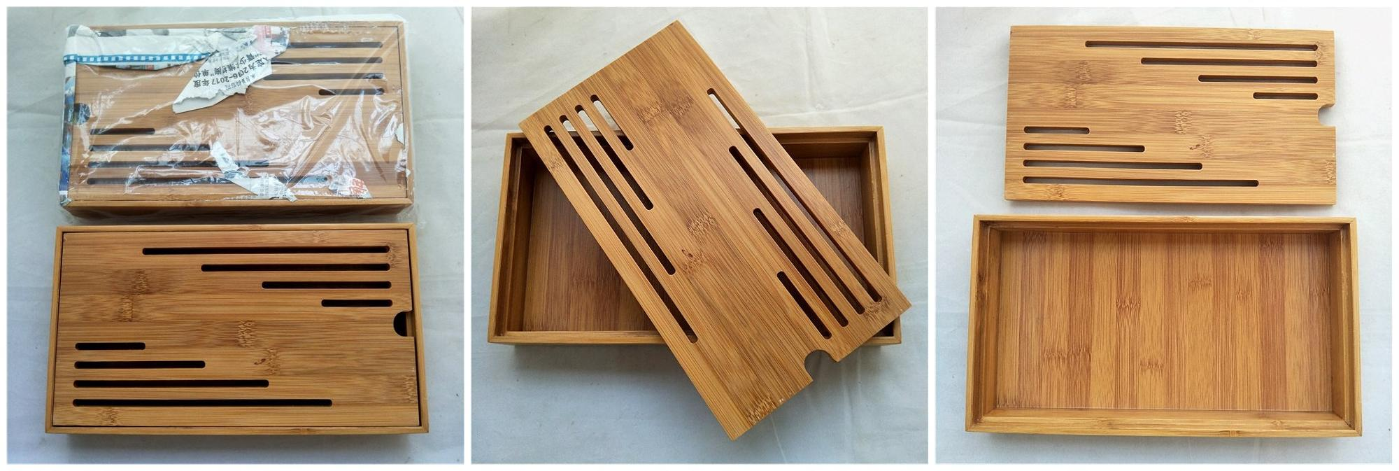 Cha pan China suppliers wholesale custom bamboo kung fu tea tray