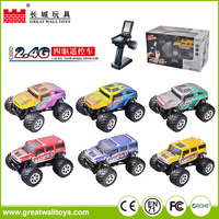 New arrival 1:34 scale four wheel drive toy car rc trucks games for boys