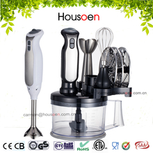 small kitchen appliance 8-in-1 stainless steel food blender with different accesssory