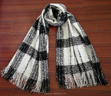 Soft and Warm Plaid Scarf with High Qulity Wholesale