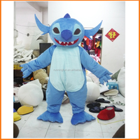 2016 RF top sale lilo stitch mascot costume,mascot costume cartoon adult,used mascot costumes for sale