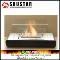 New Indoor Fashion TG-01, SS burner removable ethanol fire place