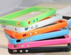 New Bumper Rim Case Silicone Cover For Apple iPhone 5 5S Free Screen Protector