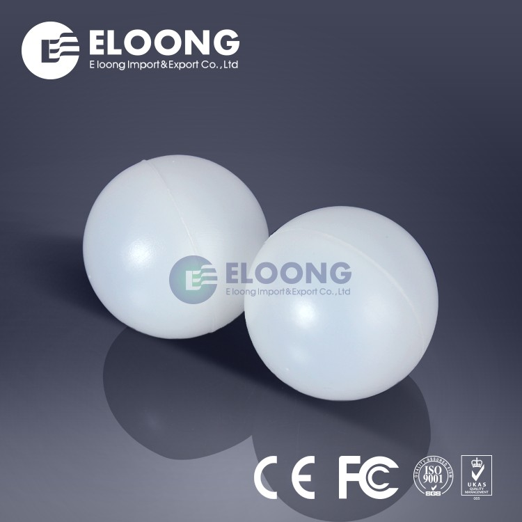 Hardness Polypropylene Demisting Plastic Hollow Ball For Tower Packing