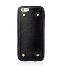 oil tan leather case, black phone sleeve, classical black phone case