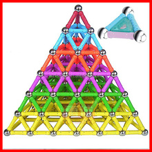 2017 Most Popular Colorful Kids Intelligence Toy Brick,Magnet Bar Building Block Toy,Maganetic Bar Assembling Block Toy