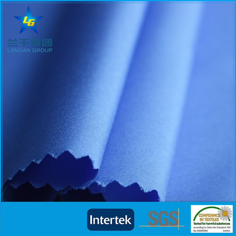 170t 190t 210t pongee polyester fabric for clothing 100 polyester lining