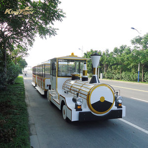 Theme park adult rides electric train set for sale