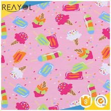 Chinese supplier soft digital printed 100% cotton jersey fabric wholesale in new jersey