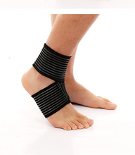 New professional healthcare breathable neoprene ankle support padded for outdoor gym sports