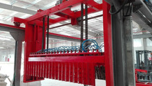 automatic production line for gypsum block (building material)