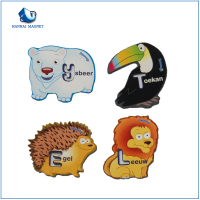 Wholesale fridge magnet customized 3D print soft pvc magnet