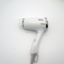 1200w foldable mini quiet travel size hair dryer with diffuser