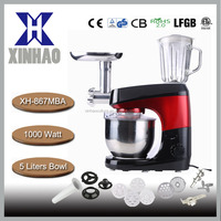 food mixer stand mixer 3in1 functions with blender and meat grinder