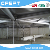 API Aluminum pontoon internal floating roof, floating roof deck, floating roof for storage tank