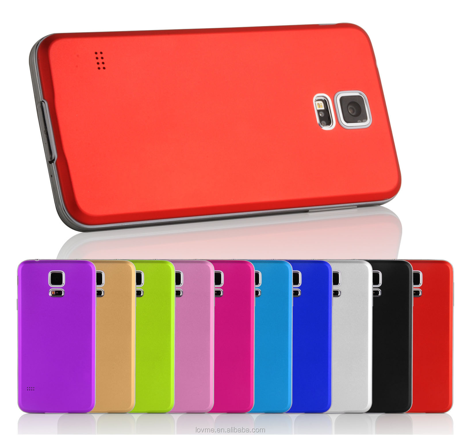 Luxury Ultra Thin Metal Aluminium Back Battery Case Cover For Samsung Galaxy S5 I9600