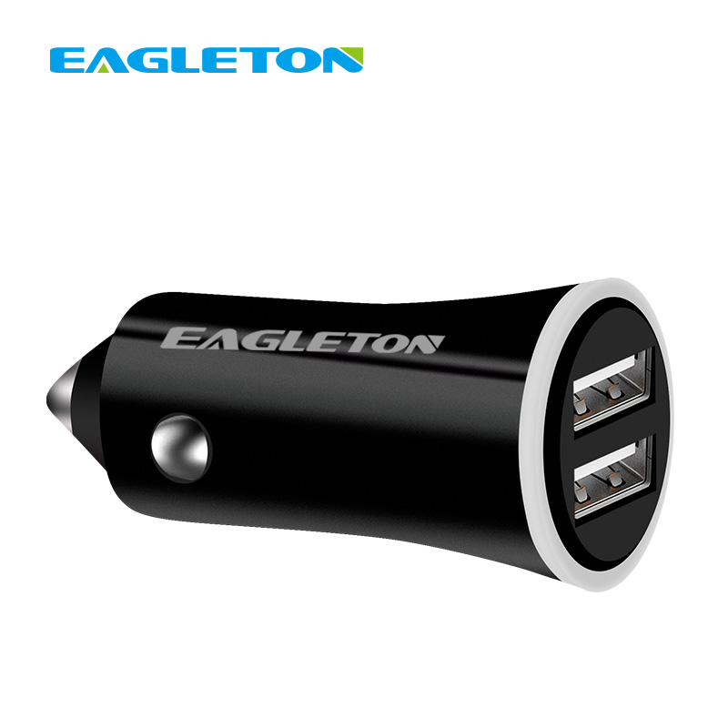 Hot sale usb car charger 2.1a 2 ports usb car charger for cell phone