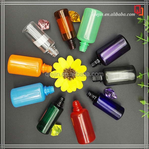 10ml 15ml 20ml 30ml 50ml 60ml plastic e liquid bottle light blue PET dropper bottles