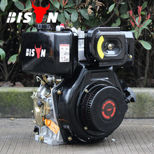 BISON (CHINA) 12hp portable diesel engine driven air compressors , diesel engine parts and function