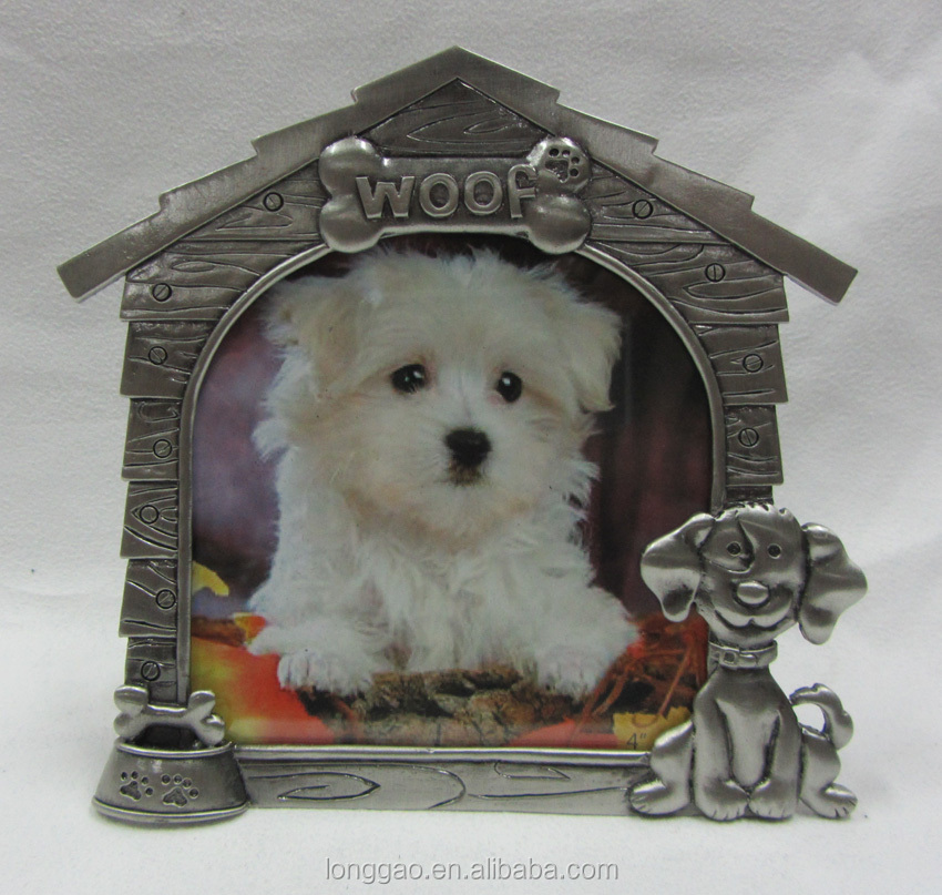 Metal Photo Frame for Pet Dog
